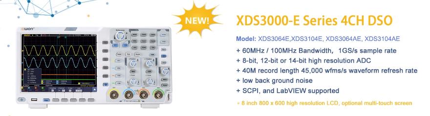 OWON XDS3000-E Series