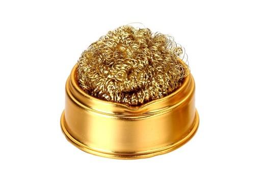 Budget brass wool wipe-off tray