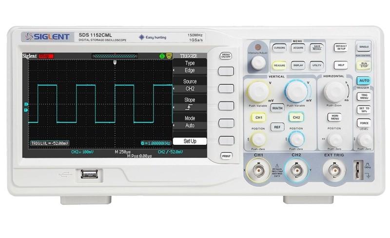 Siglent SDS1072CML+ oscilloscope