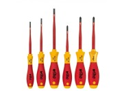 Wiha 3201 K601 6-piece VDE SlimFix screwdriver set