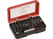 Wiha 31-piece bit box with colour rings rings
