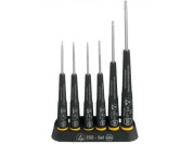 Wiha 278 K6 ESD safe 6-piece precision screwdriver set