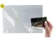 100 pcs. ESD safe static shielding bags (metallized)