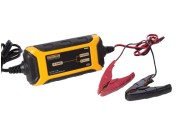 Automatic 12V 1.5A battery charger for lead-acid batteries