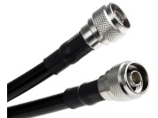 N-type to N-type coax cable 50 ohm 5m
