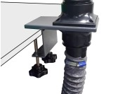 Table clamp set for FE1-/FE2- fume extractors