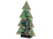 2D Christmas tree (red LEDs)