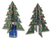 3D Christmas tree (color LEDs)