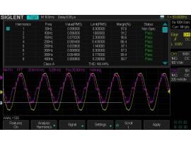 Siglent SDS2000 Power analysis option