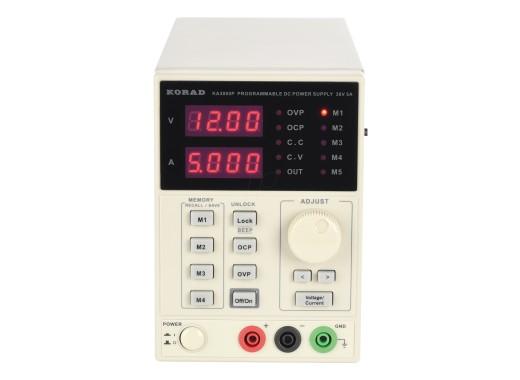 Alimentation de laboratoire programmable Korad KA3005P 0-30V 0-5A