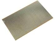 Circuit imprimé d'expérimentation 100x160 (à bandes)