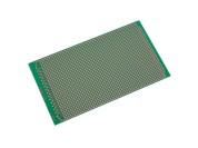 Circuit imprimé d'expérimentation FR4 100 x 160mm (à pastilles)