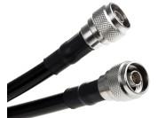 Câble coaxial de type N à type N de 50 ohm