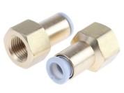 """Raccord push-fit (à encliquetage) pour compresseur de 1/8"""" à 6mm"""