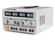 Dual 0-30V and 0-3A + 5V power supply