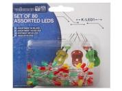 Set of LEDs (80 pcs)