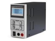 Alimentation de laboratoire 0-30V 0-3A avec écran LCD à éclairage