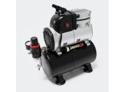 Silent airbrush compressor