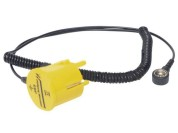 ESD earthing plug with cable