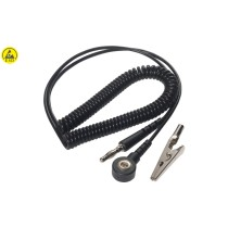 ESD spiral cable jack