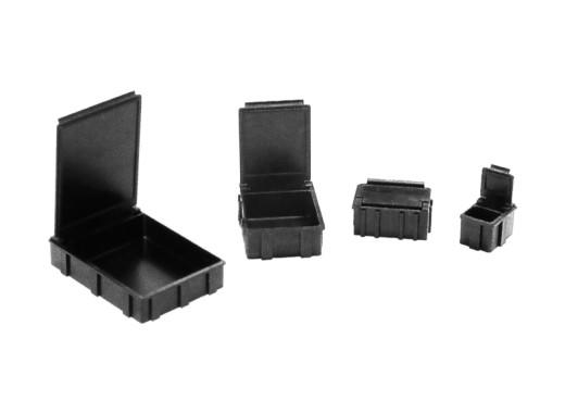 ESD SMD container zwart (diverse maten)
