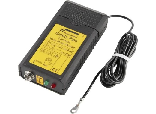 ESD polsband tester