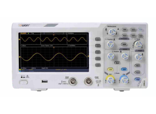 Owon SDS1102 oscilloscoop