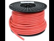 Premium flexibele kabel op maat (rood)