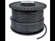 Premium flexibele kabel op maat (zwart)