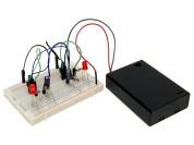 BusBoard JRG01-KIT knipperende LEDs