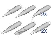 JBC (de)soldeerpuntenset voor NT105 en NP105 tools