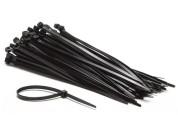 Tie-wraps 200 mm lengte, 4.8 mm breedte