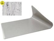 Grijze ESD -veilige vloermat 1000 x 500mm