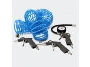 Accessoire set voor stille luchtcompressor met slangkoppeling