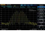 Rigol RSA3000 software optie: Real-time analysis BW Upgrade naar 25MHz