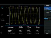 Analoge modulatie analyse licentie voor SVA1015X