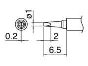 Hakko T30 soldeerpunten