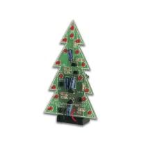 2D kerstboom (rode LEDs)