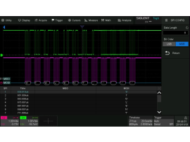 SDS2000X Plus Serial decoding opties