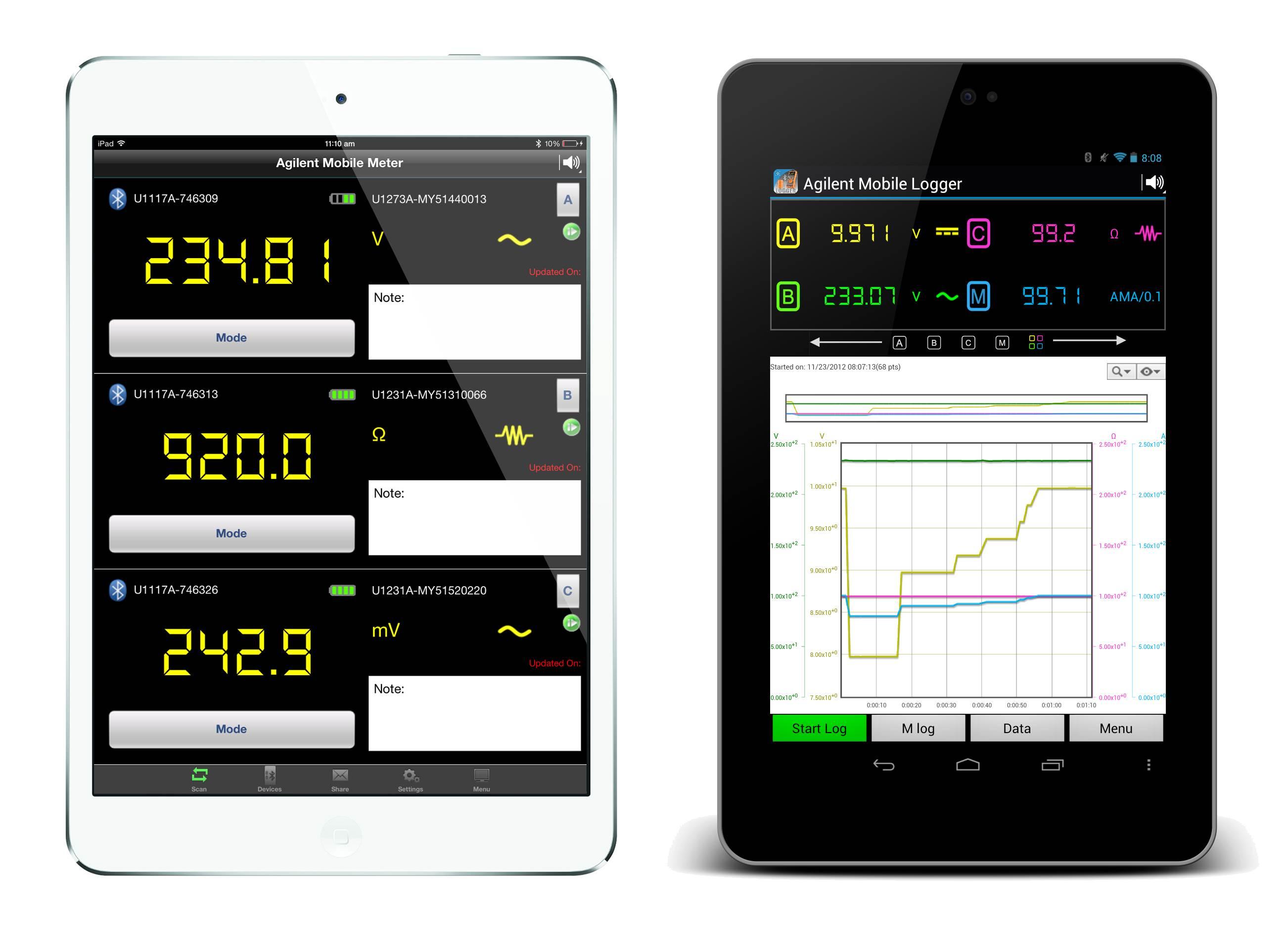 Keysight multimeter app