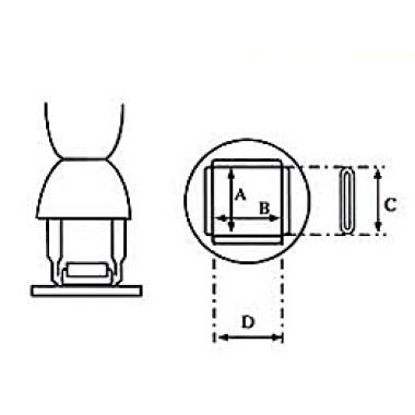 Aoyue bqfp soldeernozzle