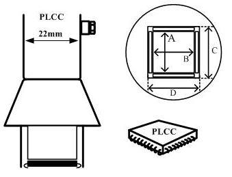 Aoyue PLCC soldeernozzle