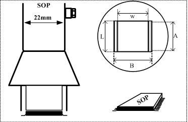 Aoyue TSOP soldeernozzle