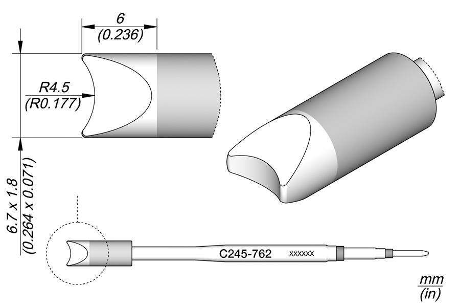 JBC C245811//à souder pour T245