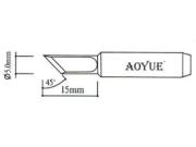 Aoyue soldeerpunt mesvorm